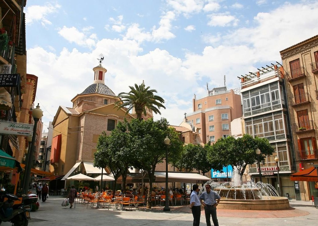 Murcia espagne arts et voyages for Appart hotel etranger